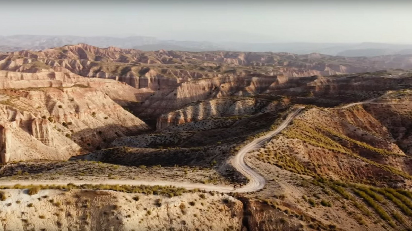 Les Badlands d'Andalousie